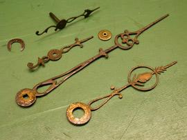 Uhrzeiger antik  Antikuhren-Haus Weber: Uhrmacher-Reparatur für antik Uhren ...